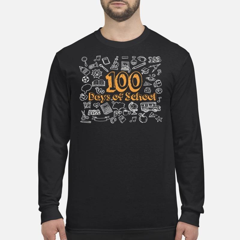 100 days of school Longsleeve Tee