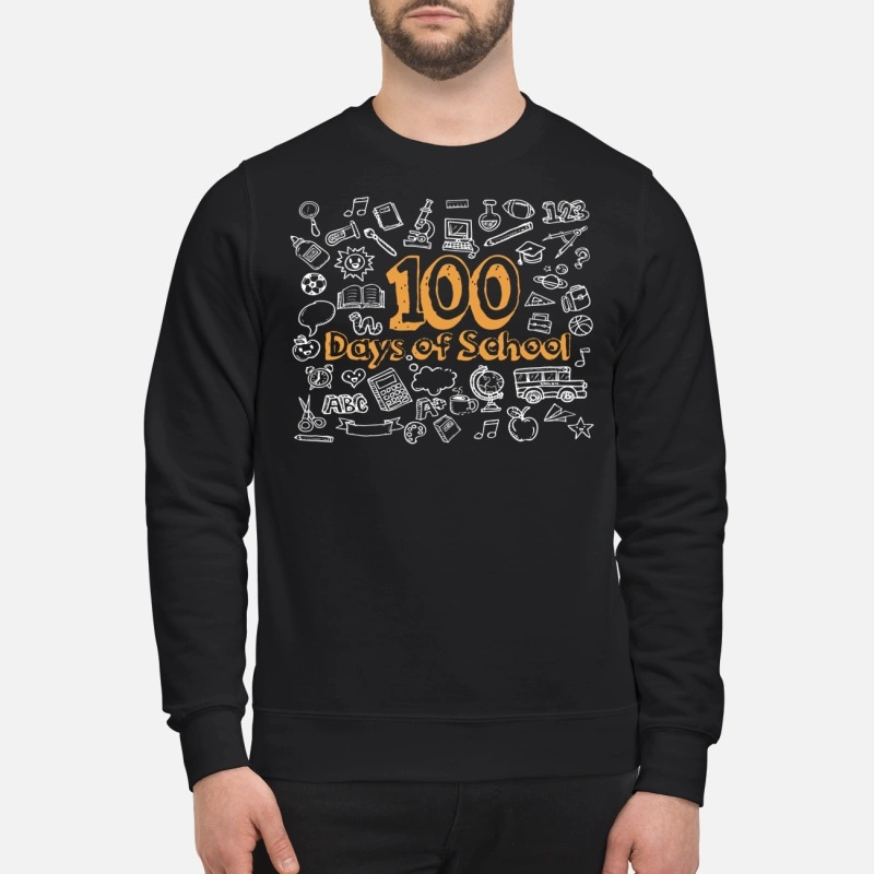 100 days of school Sweater