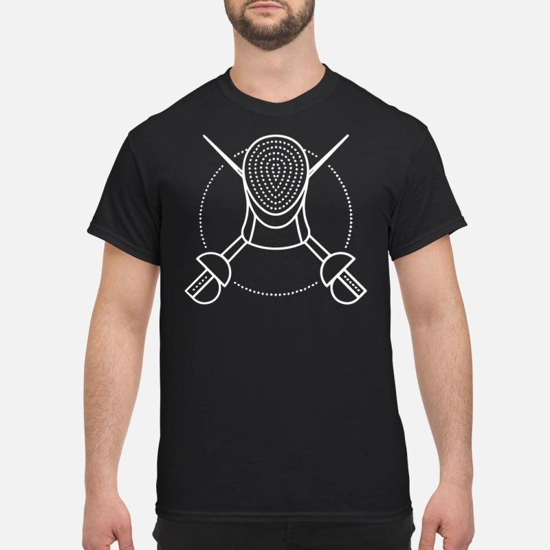 Fencing sport Guys Shirt