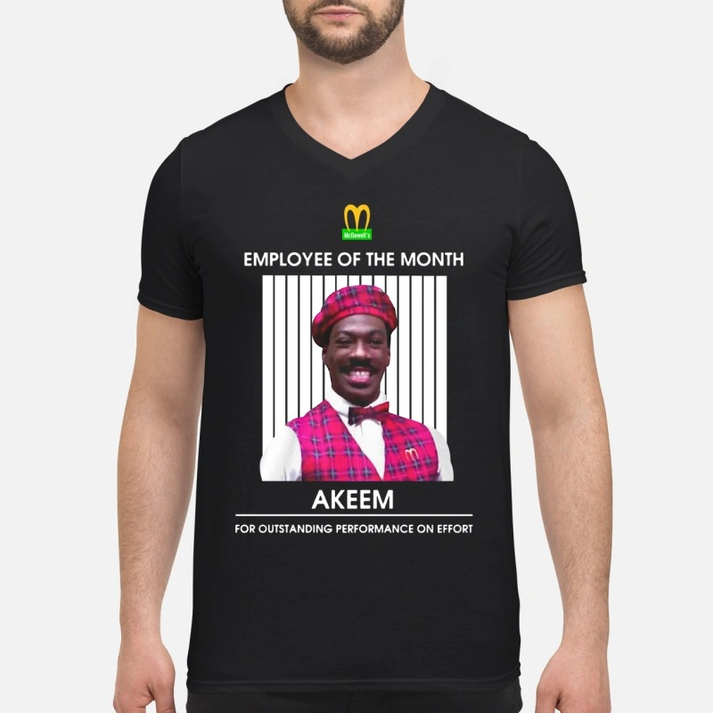 Mcdowell's employee of the month V-neck T-shirt