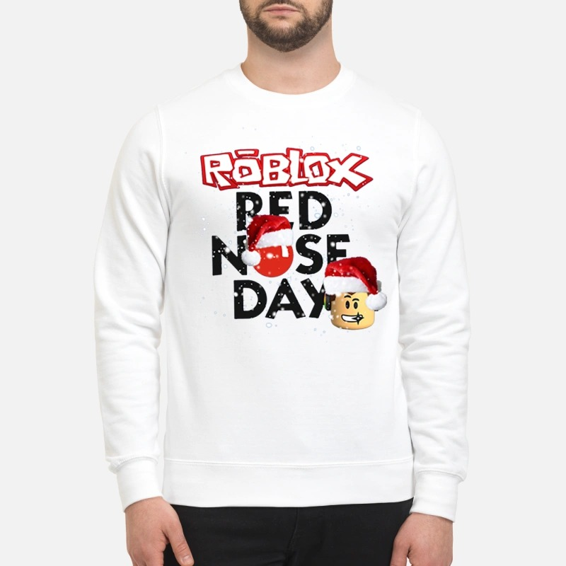 f3fd67e19b634a Roblox Christmas red nose day sweater