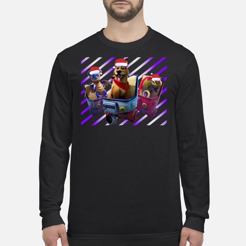 Scales Bonesy Camo fortnite Christmas sweater, guys shirt