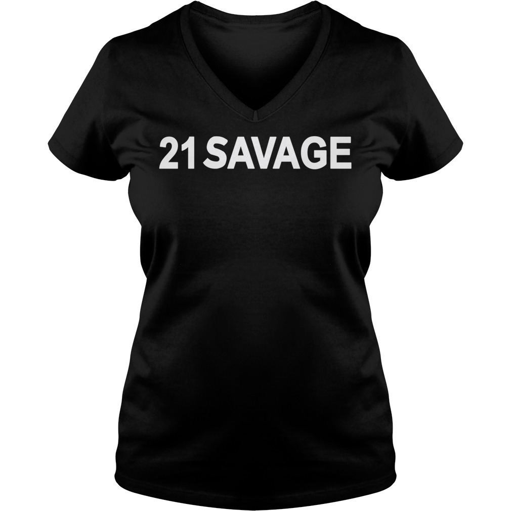 21 Savage V-neck T-shirt