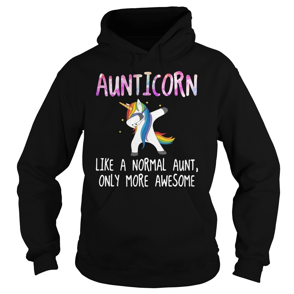Aunticorn dabbing like a normal aunt only more awesome Hoodie