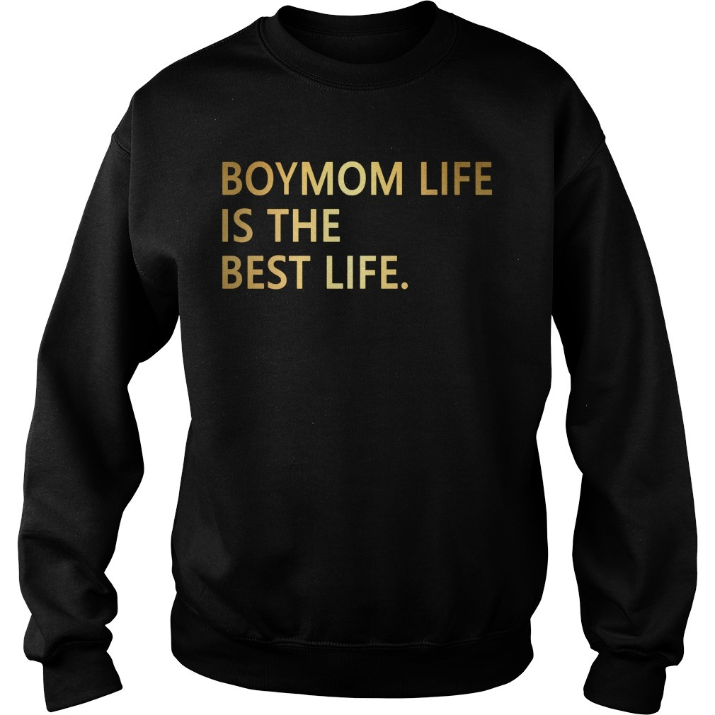 Boymom life is the best life Sweater