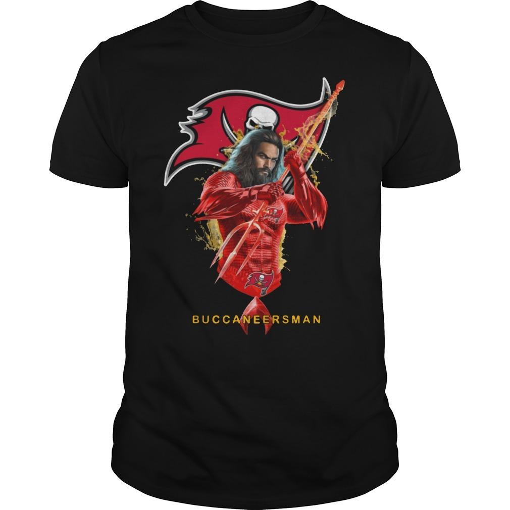 Buccaneersman Aquaman and buccaneers football team Guys Shirt