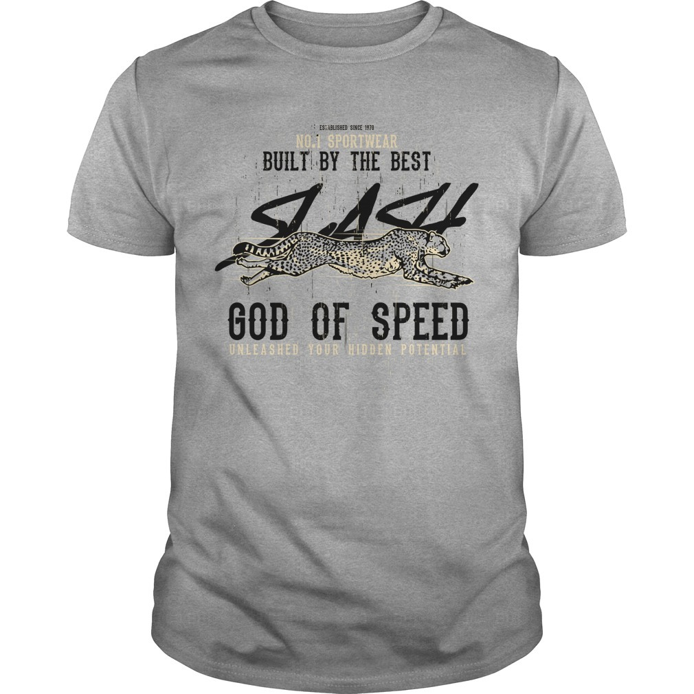 Built by the best god of speed Guys Shirt