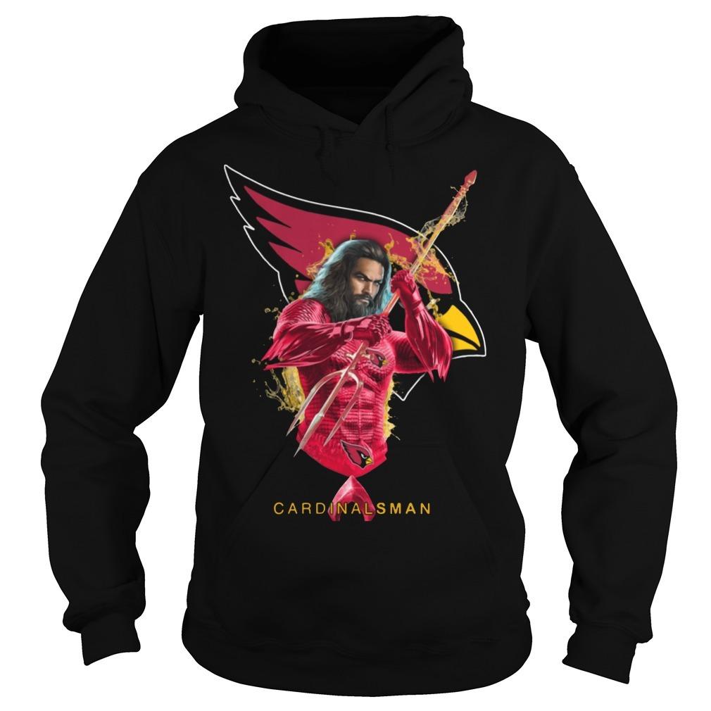 Cardinalsman Aquaman and Cardinals football team Hoodie