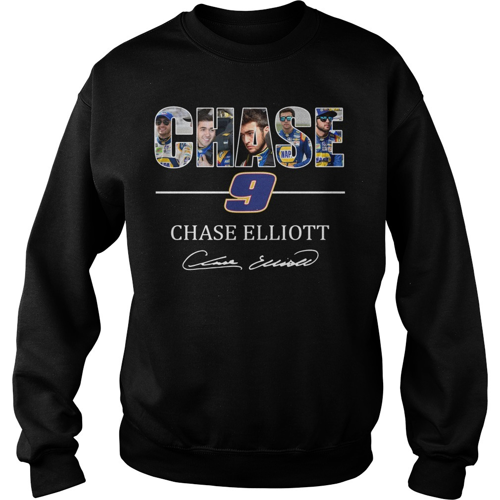 Chase 9 Chase Elliott sign Sweater
