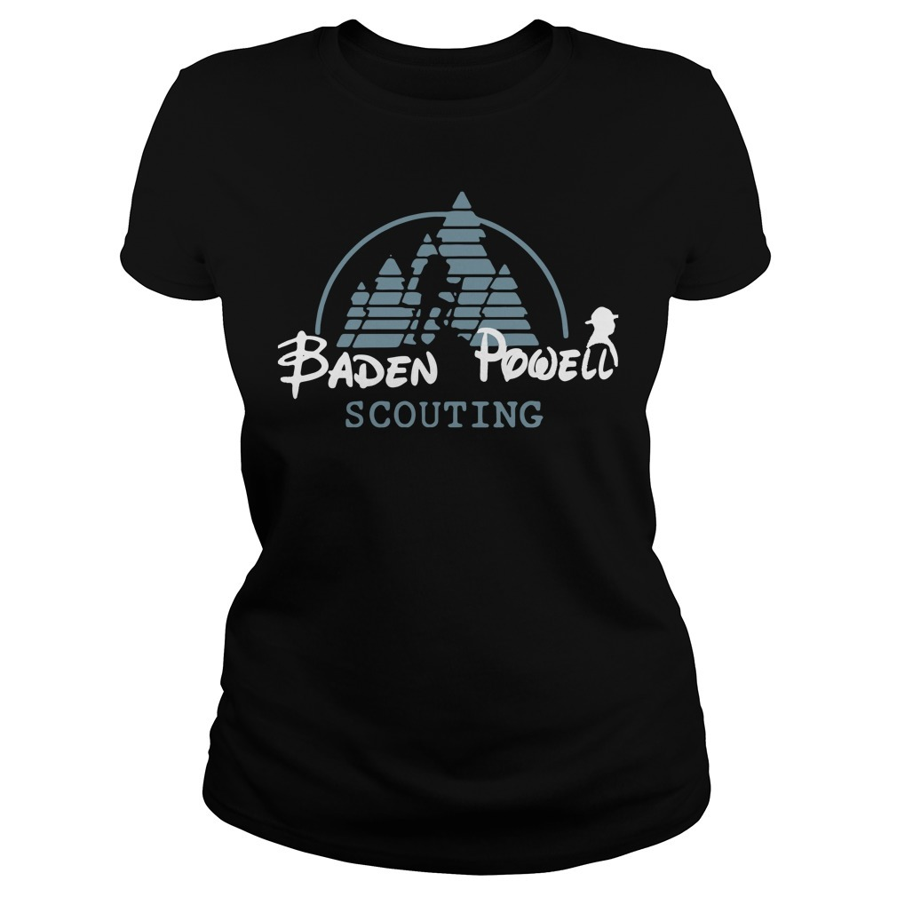Disney baden powell scouting Ladies Tee