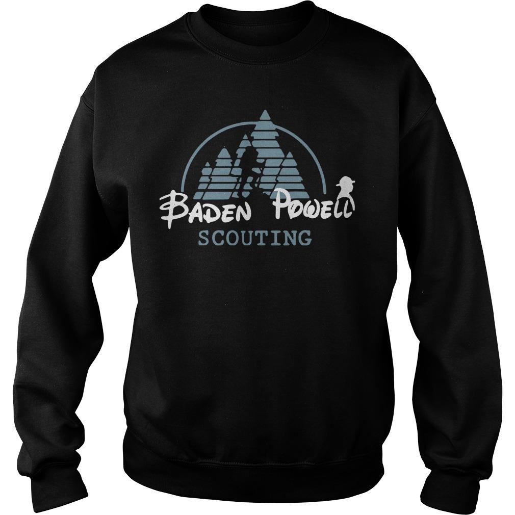Disney baden powell scouting Sweater