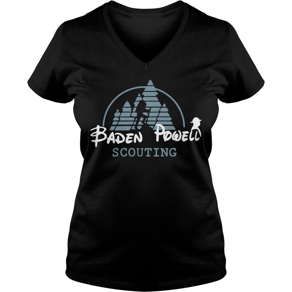 Disney baden powell scouting V-neck T-shirt