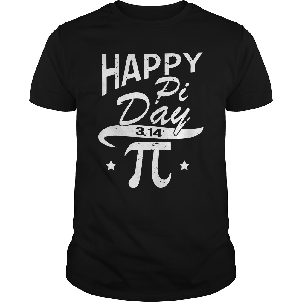 Happy pi day 3 14 Guys Shirt