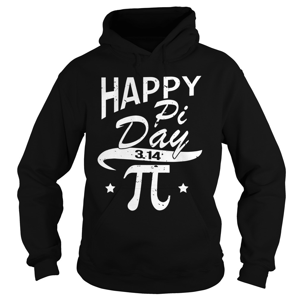 Happy pi day 3 14 Hoodie