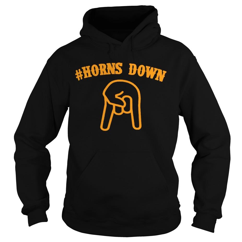 Horns down Hoodie