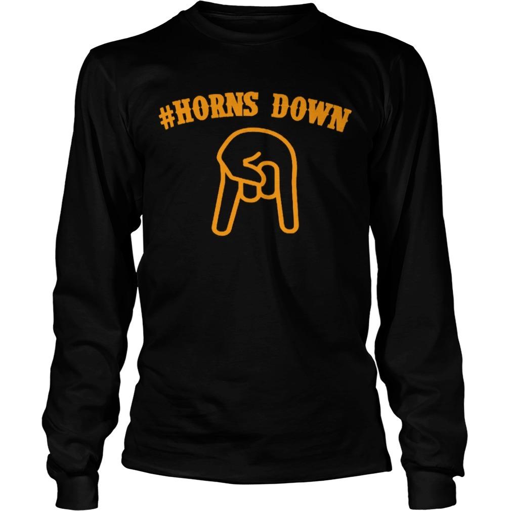 Horns down Longsleeve Tee