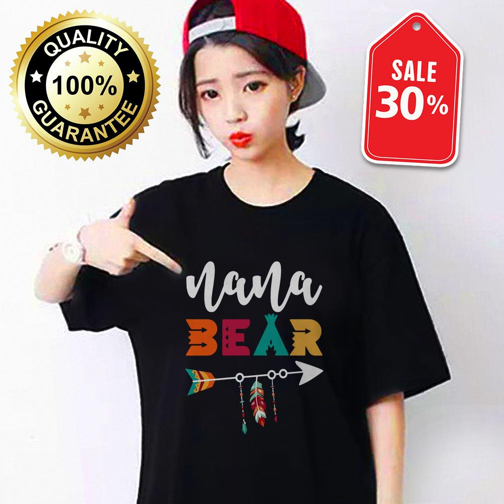 Nana bear Guys shirt