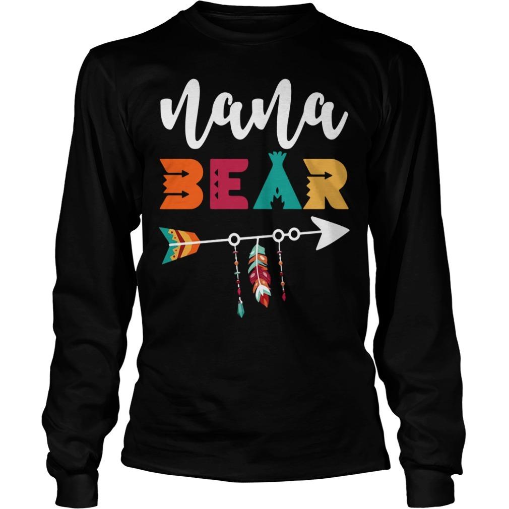 Nana bear Longsleeve Tee