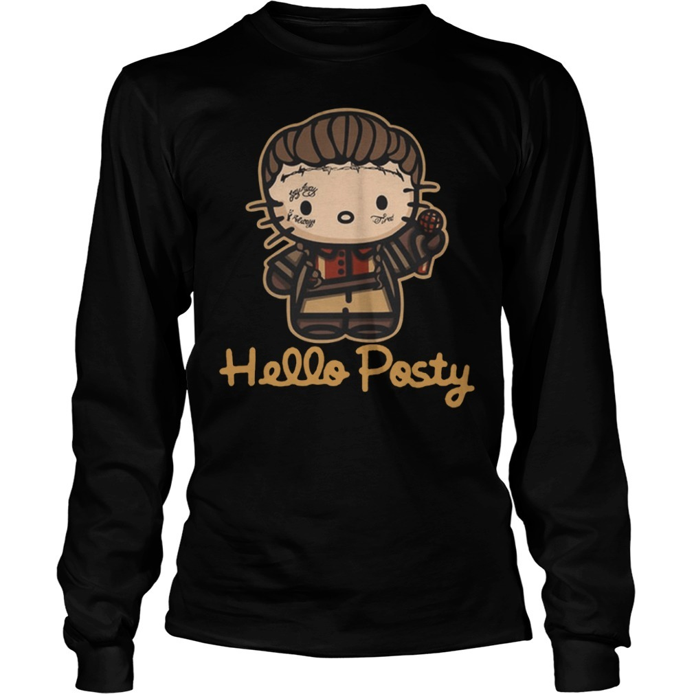 Official hello posty post malone Longsleeve Tee