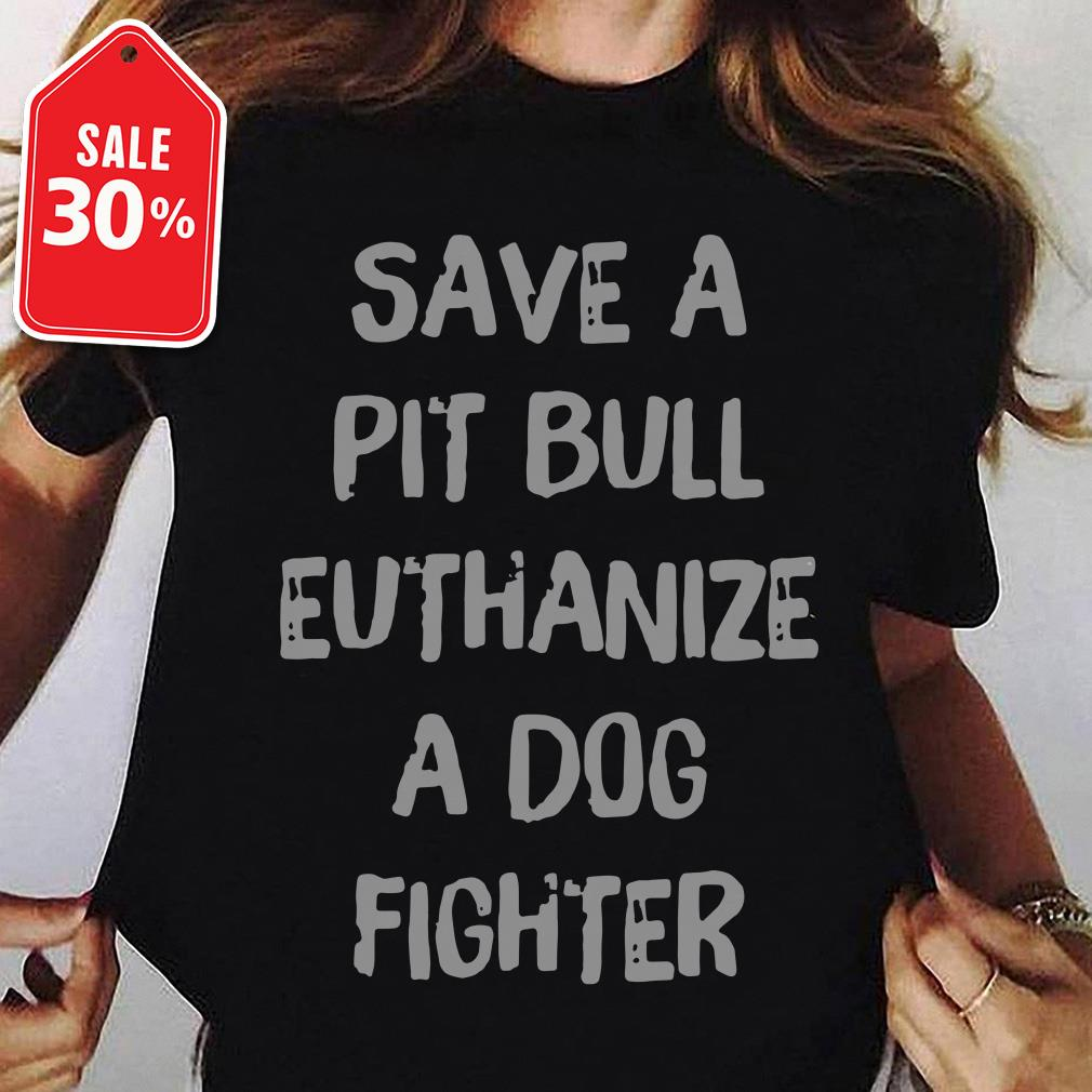 Official save a pit bull euthanize a dog fighter