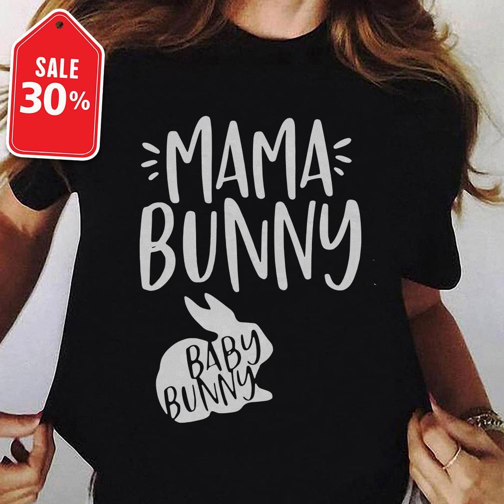 Rabbit mama bunny baby bunny Guys shirt