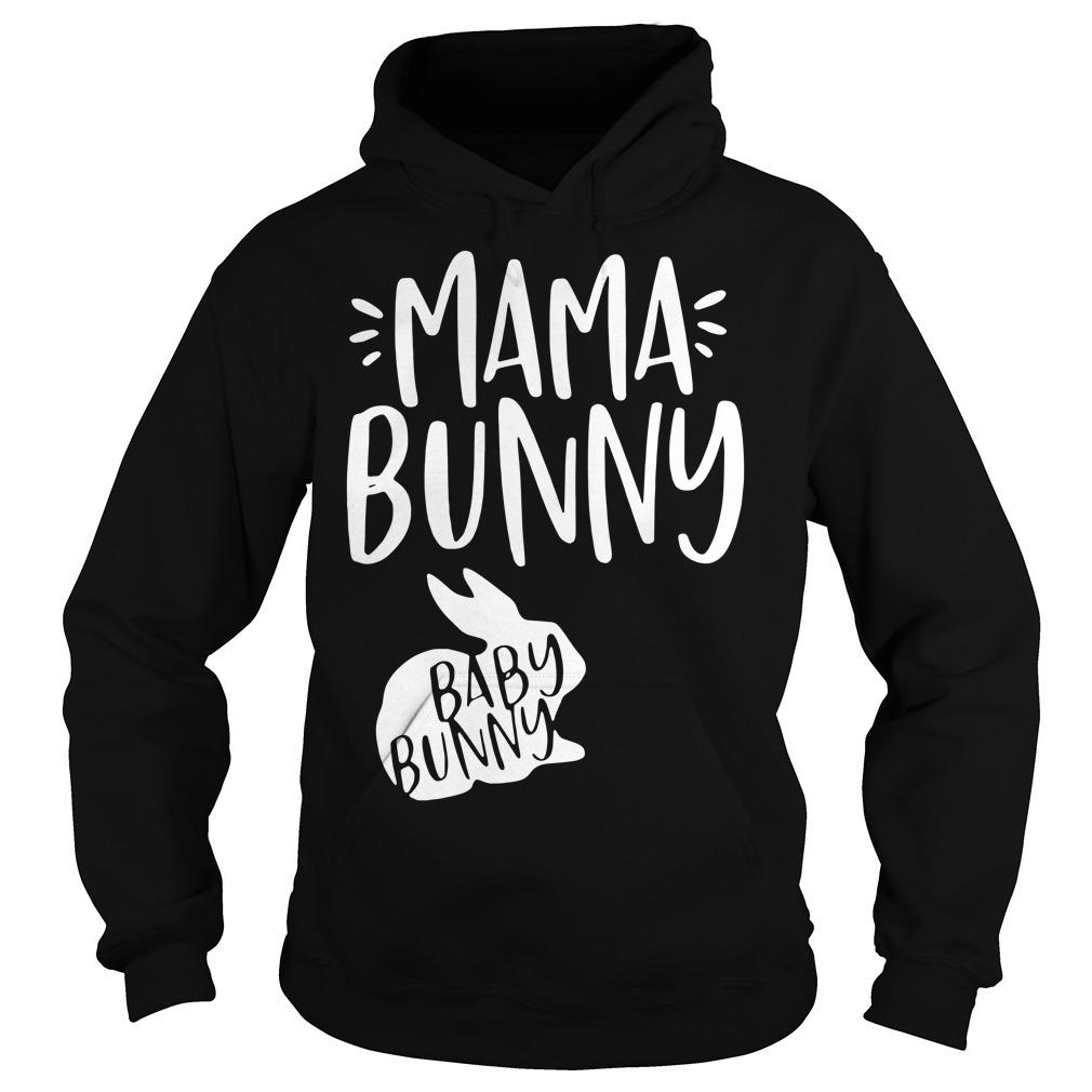 Rabbit mama bunny baby bunny Hoodie