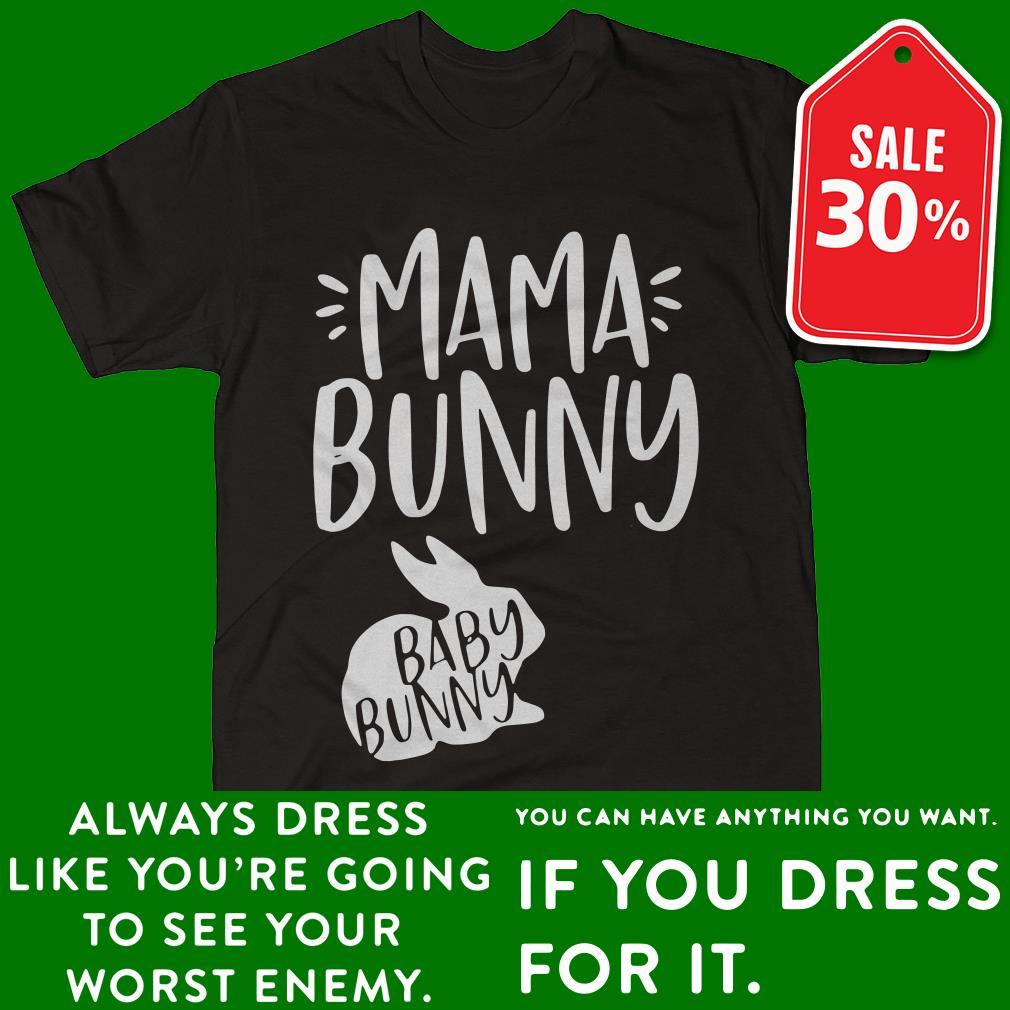Rabbit mama bunny baby bunny