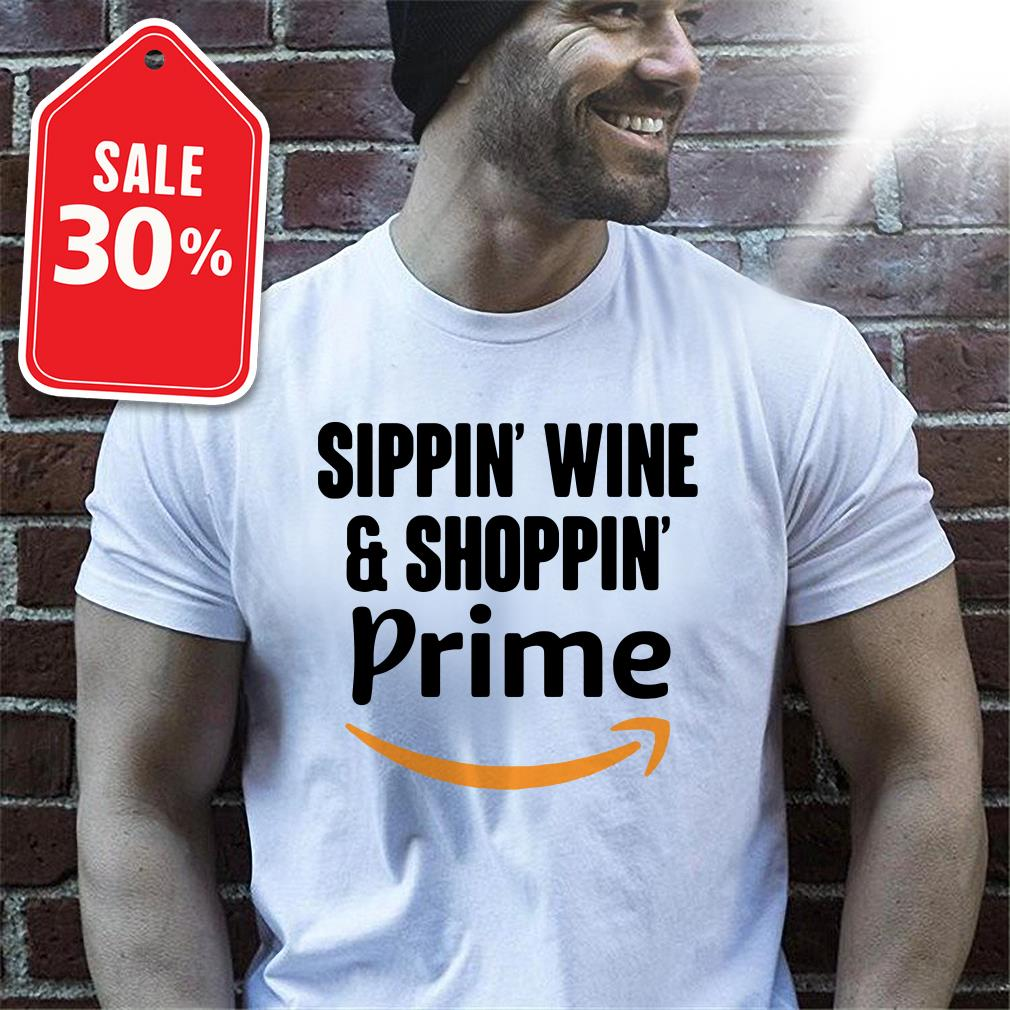 Sippin' wine and shoppin' Prime T-shirt