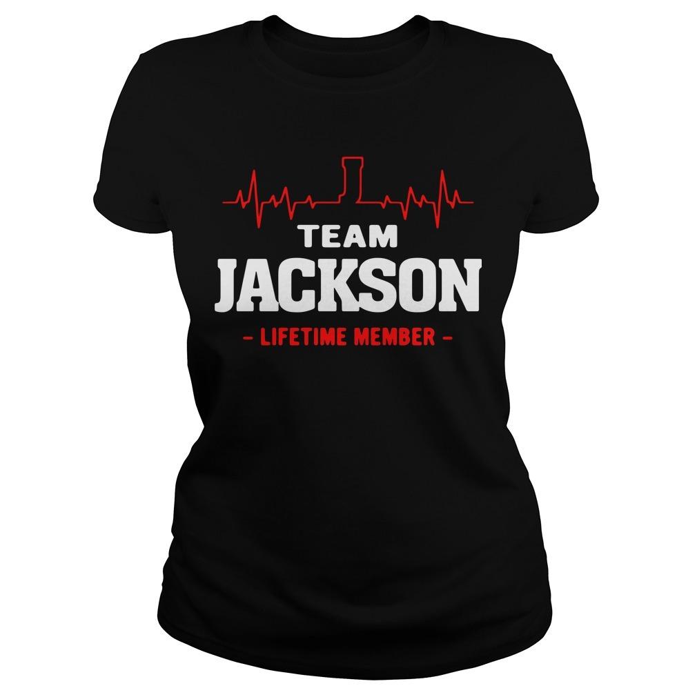 Team Jackson lifetime member Ladies Tee