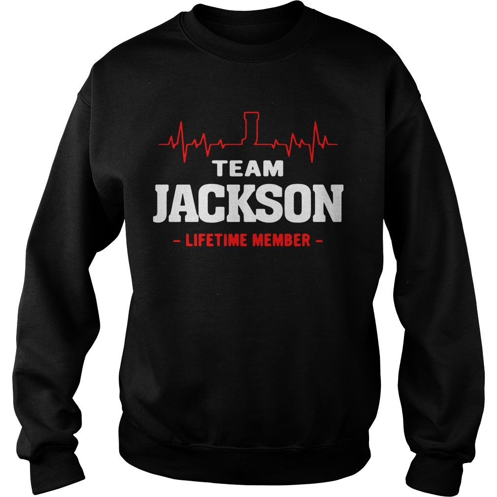 Team Jackson lifetime member Sweater