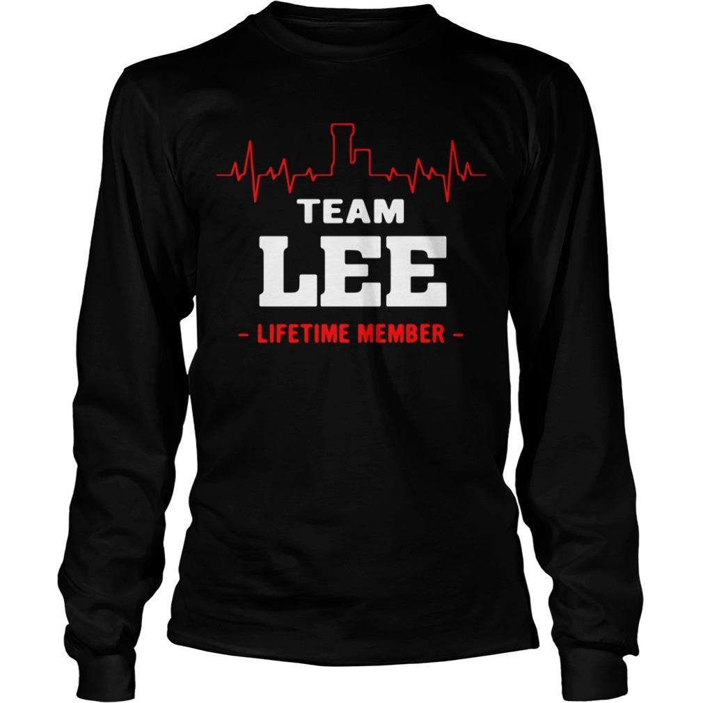 Team Lee lifetime member Longsleeve Tee