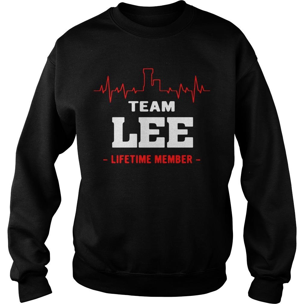 Team Lee lifetime member Sweater