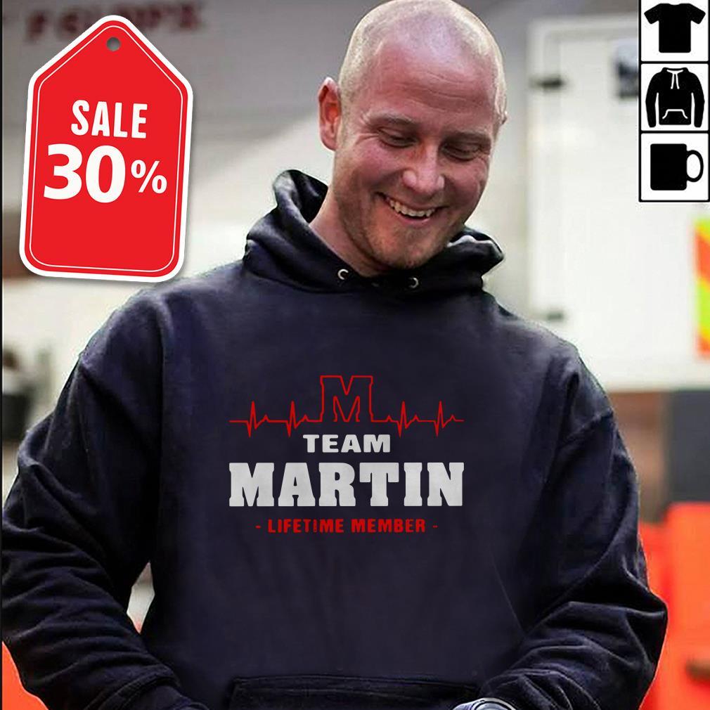 Team Martin lifetime member Guys shirt