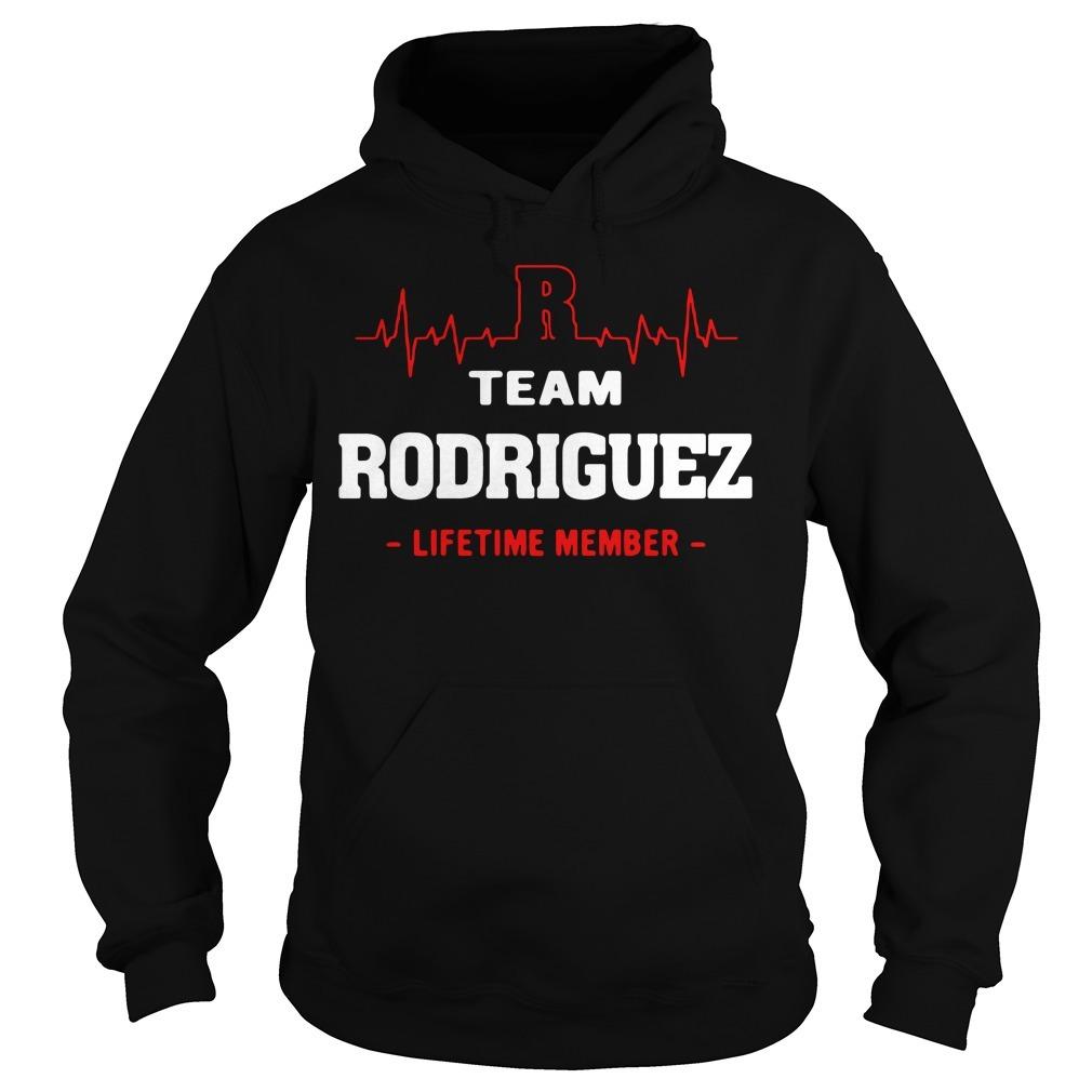Team Rodriguez lifetime member Hoodie