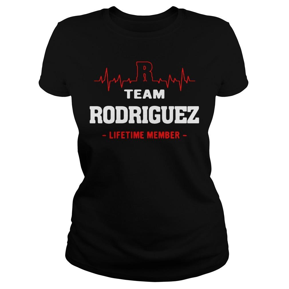Team Rodriguez lifetime member Ladies Tee