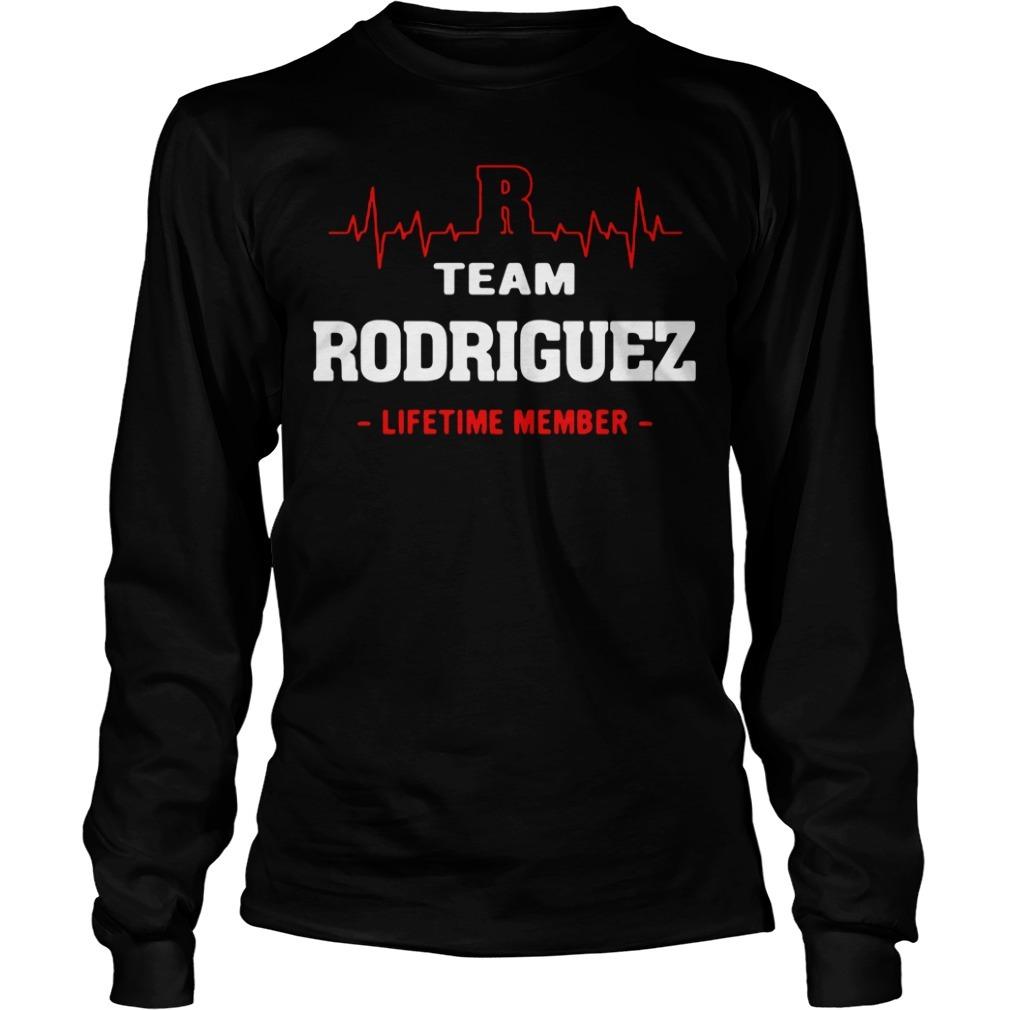 Team Rodriguez lifetime member Longsleeve Tee