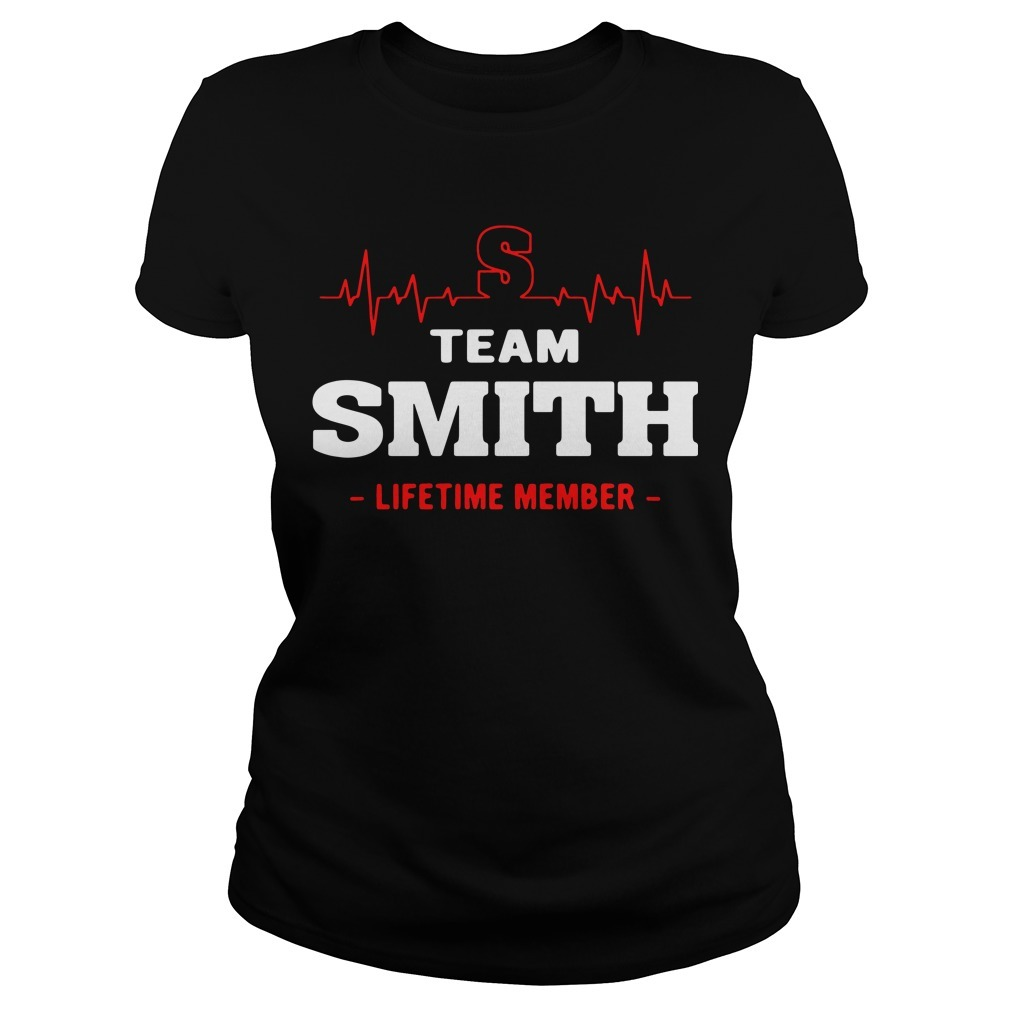 Team Smith lifetime member Ladies Tee
