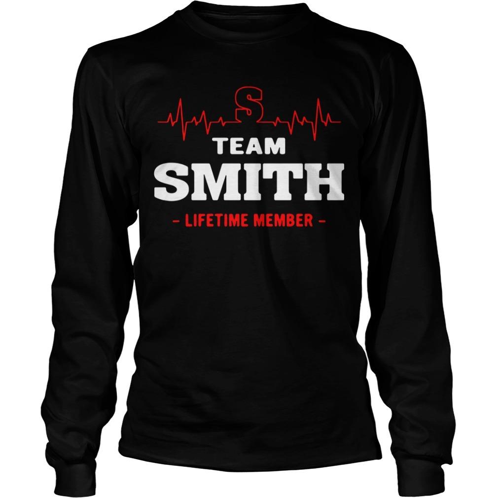Team Smith lifetime member Longsleeve Tee