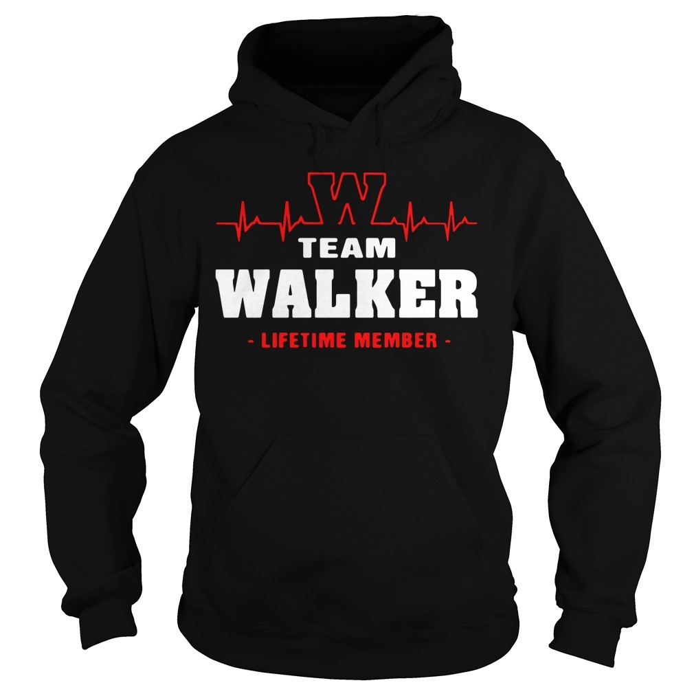 Team Walker lifetime member Hoodie