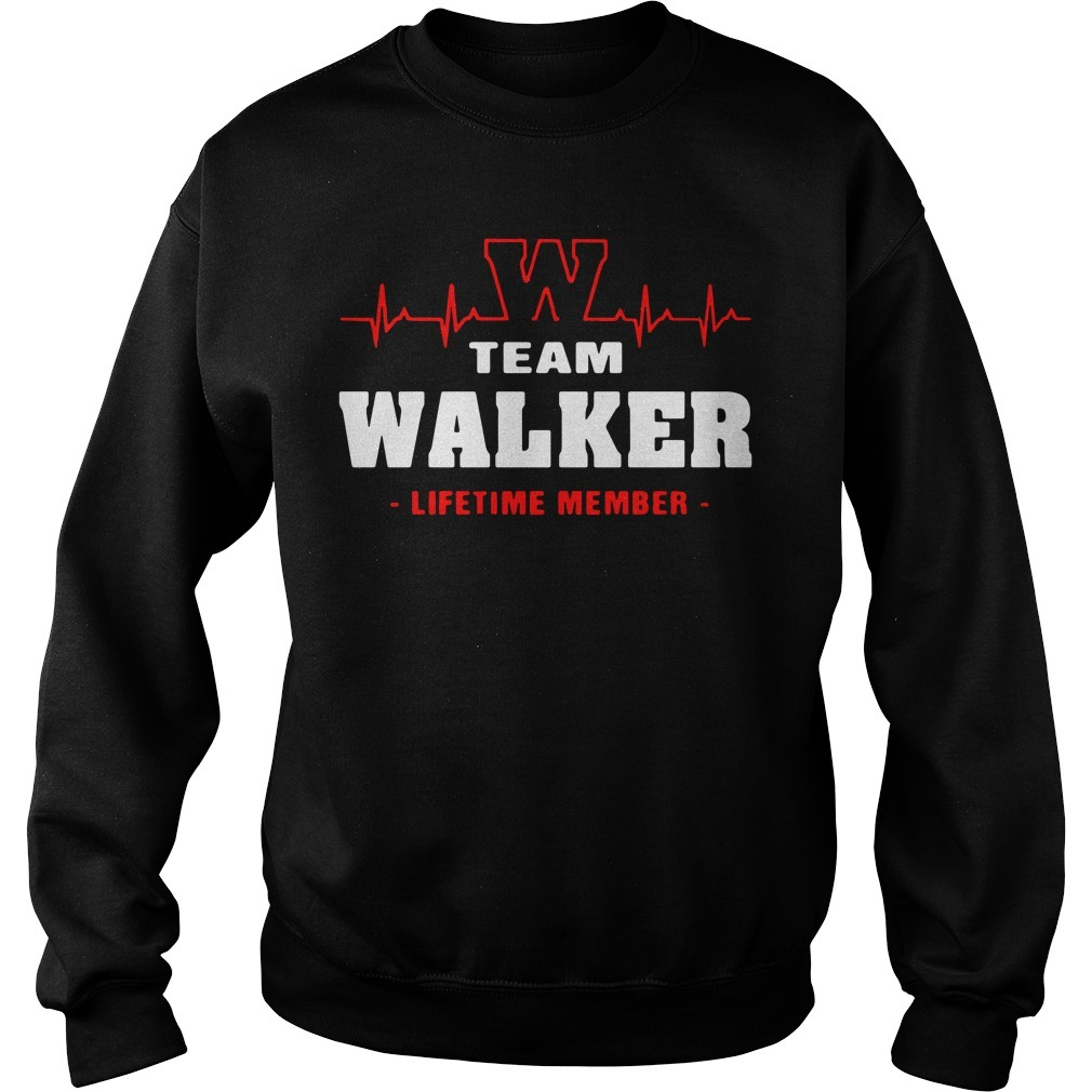 Team Walker lifetime member Sweater