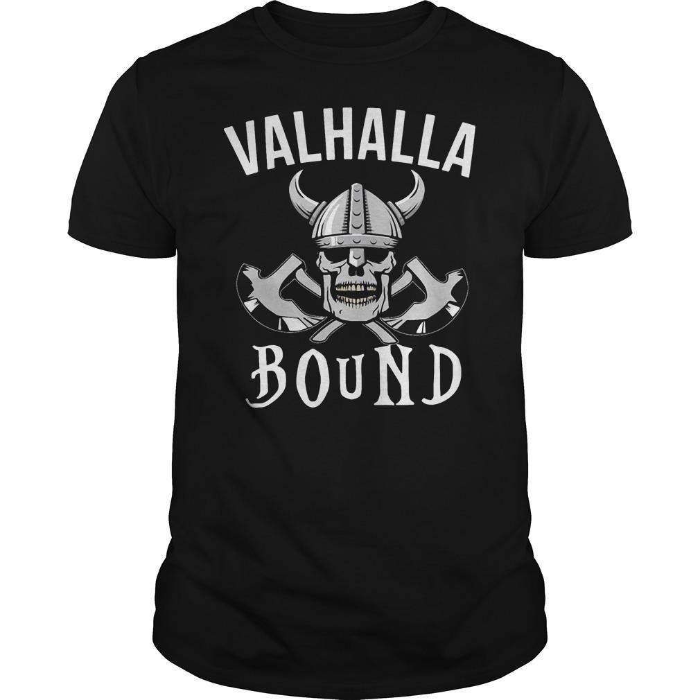Vahalla bound Guys Shirt
