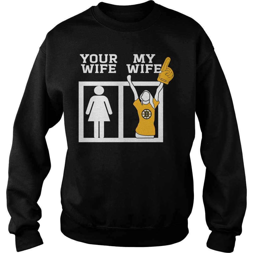 Your wife my wife ice hockey Sweater