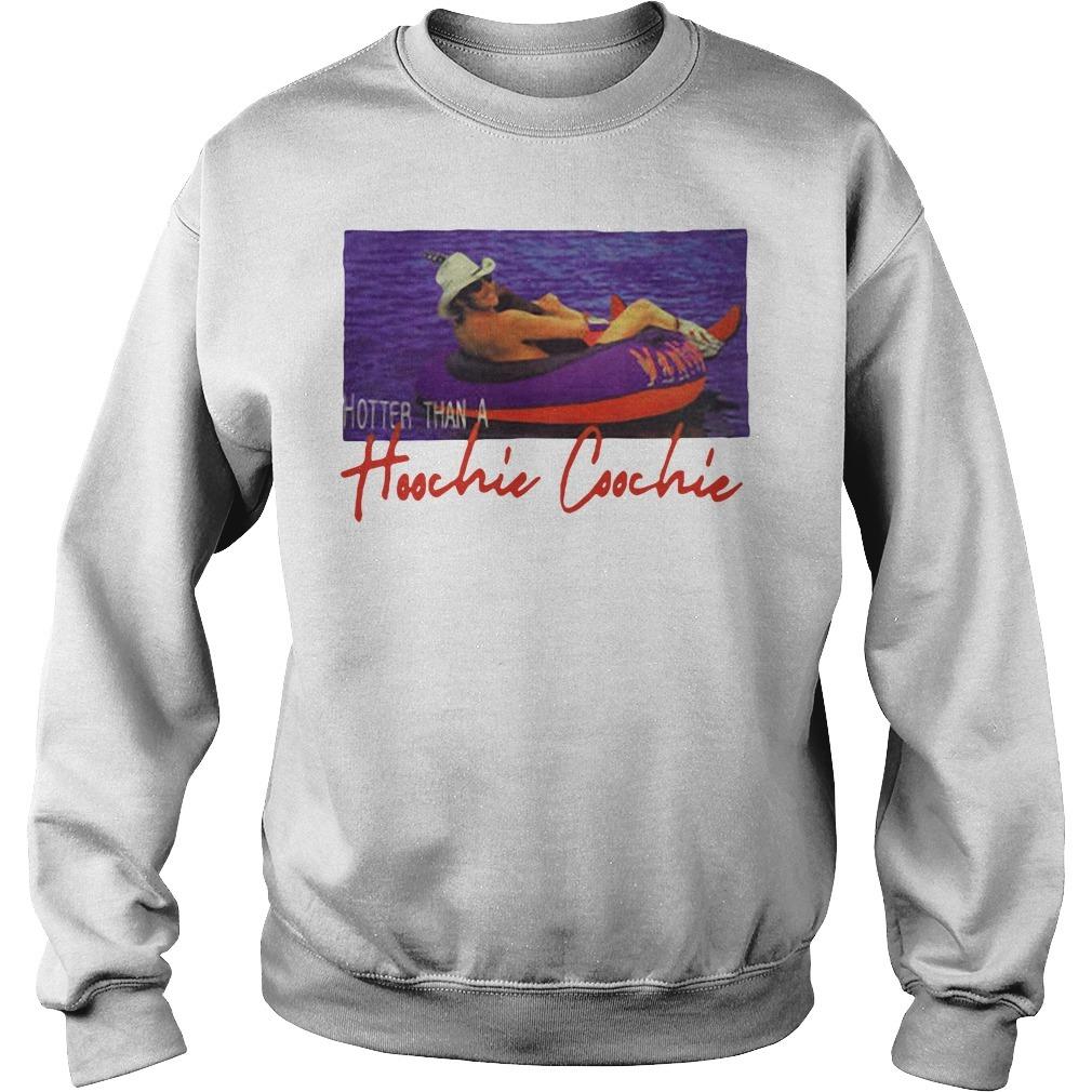 Alan Jackson Hotter Than A Hoochie Coochie Shirt Sweater