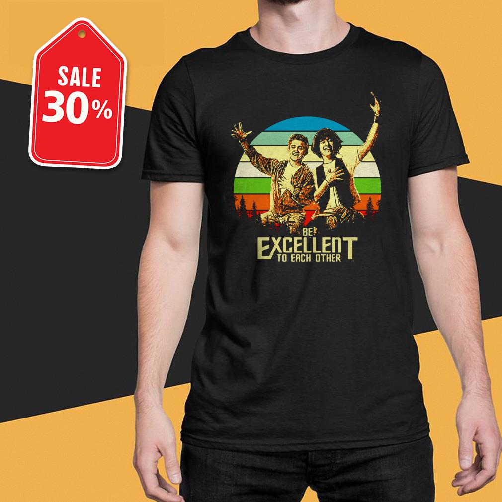 Bill and Ted's be excellent to each other vintage T-shirt