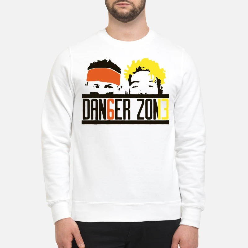 Cleveland Browns Odell Beckham Jr Baker Mayfield danger zone Sweater