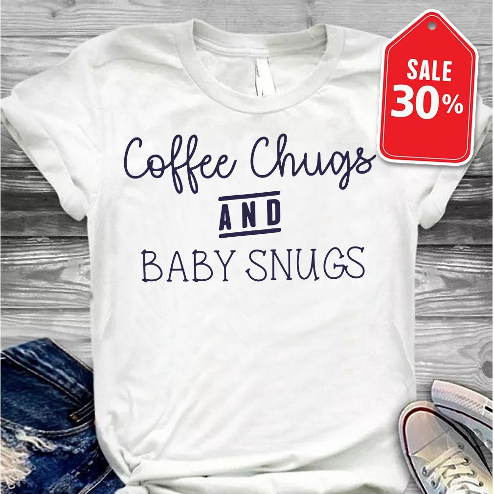 Coffee chugs and baby snugs