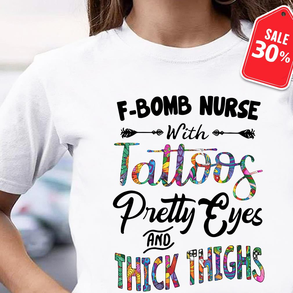 F-Bomb nurse with tattoos pretty eyes and thick thighs