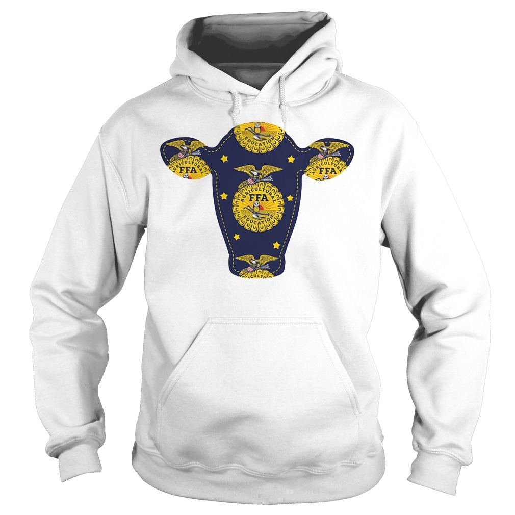 FFA agricultural education with a cow Hoodie