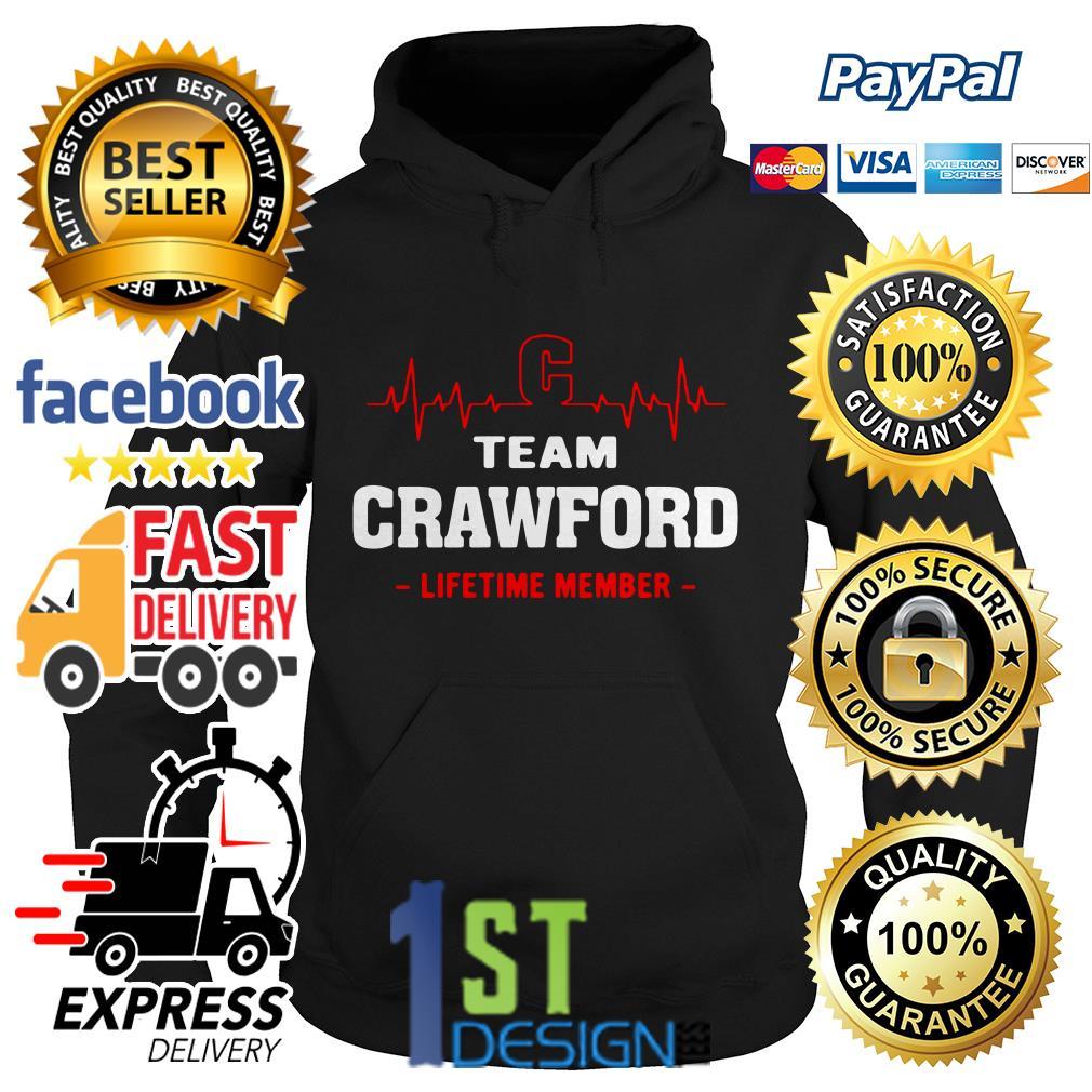 Heartbeat C team Crawford lifetime member Hoodie