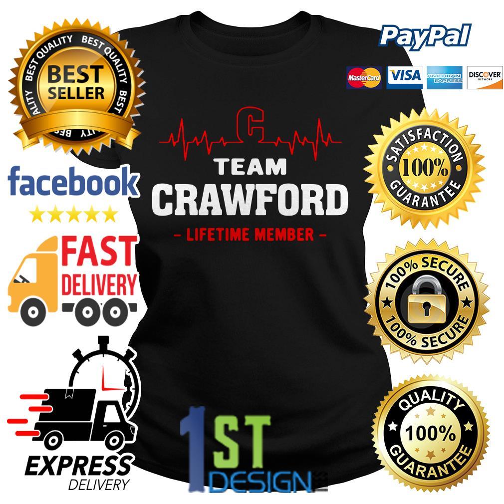Heartbeat C team Crawford lifetime member Ladies Tee